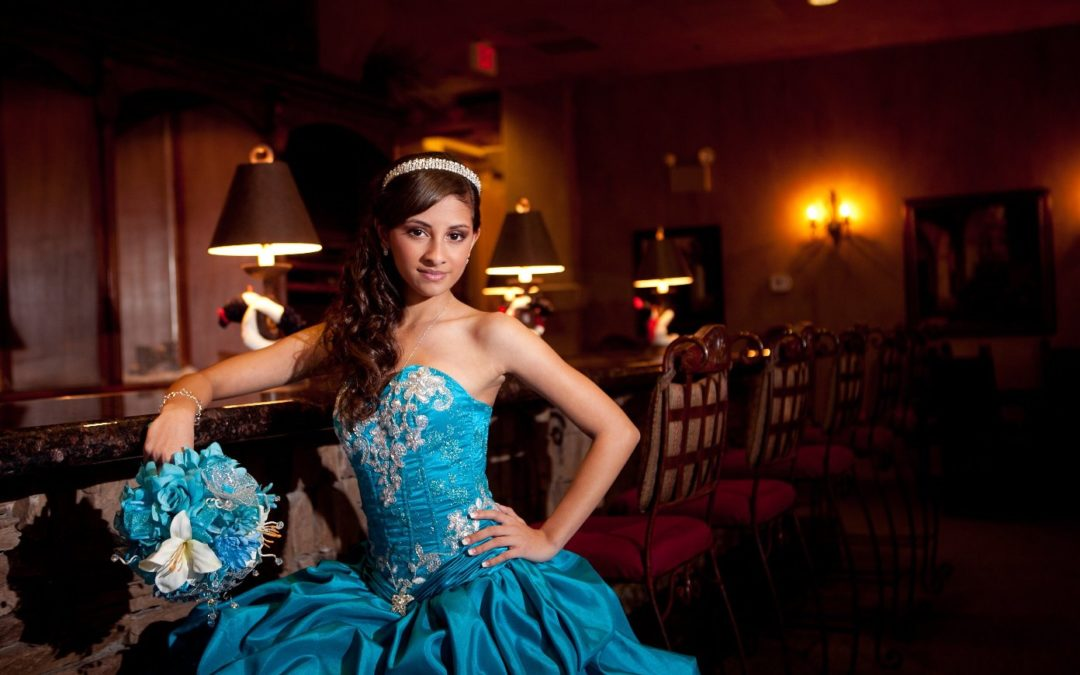 Quinceañera Blue Dresses Gallery